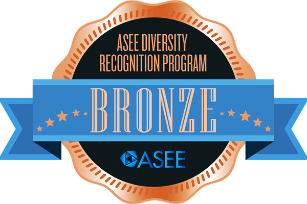 ASEE Diversity recognition bagde