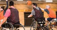 Josh Gess wheelchair basketball
