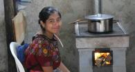 woman at stove